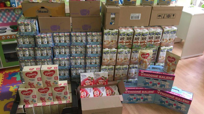 Dar od Nutricie podpořil maminky v nouzi v Hradci Králové a Pardubicích